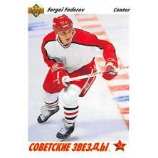 Fedorov Sergei - 1991-92 Upper Deck No.6