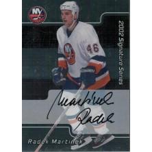 Martínek Radek - 2001-02 BAP Signature Series Autographs No.240
