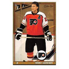 Carkner Terry - 1991-92 O-Pee-Chee No.291