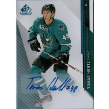Hertl Tomáš - 2014-15 SP Game Used Autographs Blue  No.25
