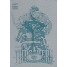 Fankhouser Scott - 2000-01 Paramount Printing Plates Front No.12