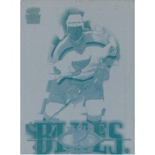 Young Scott - 2000-01 Paramount Printing Plates Front No.211