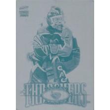 Rhodes Damian - 2000-01 Paramount Printing Plates Front No.14