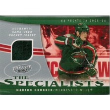 Gáborík Marián - 2006-07 Power Play Specialists Jerseys No.S-MG