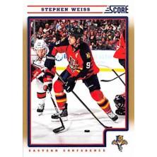 Weiss Stephen - 2012-13 Score Gold Rush No.206