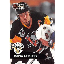 Lemieux Mario - 1991-92 Pro Set No.581