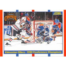 Edmonton Oilers - 1990-91 Score American No.369