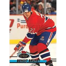 Brunet Benoit - 1993-94 Stadium Club No.422