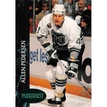 Pedersen Allen - 1992-93 Parkhurst Emerald Ice No.300