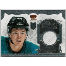 Hertl Tomáš - 2013-14 Crown Royale Heirs to the Throne Materials No.HT-THE