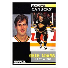 Adams Greg - 1991-92 Pinnacle No.218