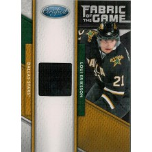 Eriksson Loui - 2011-12 Certified Fabric of the Game No.47