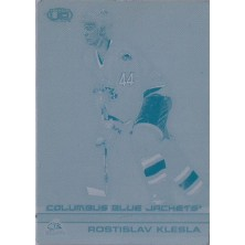 Klesla Rostislav - 2002-03 Heads Up Printing plate No.35