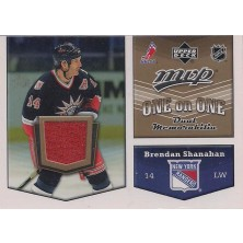 Shanahan Brendan, Smyth Ryan - 2007-08 MVP One on One Jerseys No.OO-SS