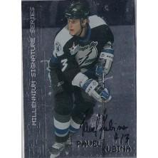 Kubina Pavel - 1999-00 BAP Millennium Autographs No.221