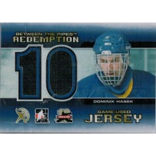 Hašek Dominik - 2011-12 Between The Pipes Jersey Redemption No.BTPR25