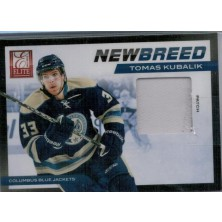 Kubalík Tomáš - 2011-12 Elite New Breed Materials Patches No.39