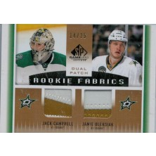 Campbell Jack, Oleksiak Jamie - 2013-14 SP Game Used Rookie Fabrics Dual Patches No.RF2-CO