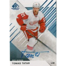 Tatar Tomáš - 2016-17 SP Game Used Autographs Blue No.87