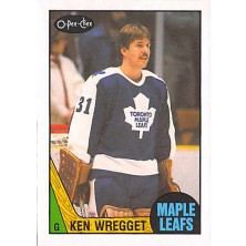 Wregget Ken - 1987-88 O-Pee-Chee No.242