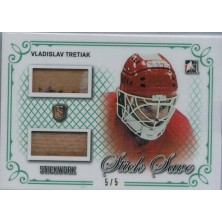 Tretiak Vladislav - 2016-17 ITG Stickwork Stick Save Emerald No.SS-12