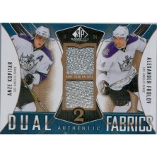 Kopitar Anze, Frolov Alexander - 2009-10 SP Game Used Authentic Fabrics Dual Patches No.AF2-AA