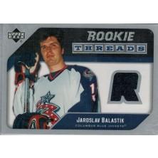 Balaštík Jaroslav - 2005-06 Upper Deck Rookie Threads blue No.RT-JB