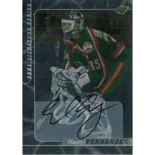 Fernandez Manny - 2000-01 BAP Signature Series Autographs No.71
