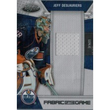 Deslauriers Jeff - 2010-11 Certified Fabric of the Game No.JD