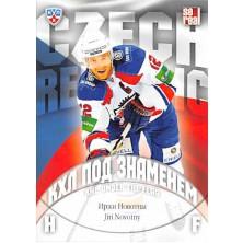 Novotný Jiří - 2013-14 Sereal KHL Under The Flag No.WCH-019