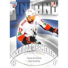 Kontiola Petri - 2013-14 Sereal KHL Under The Flag No.WCH-024