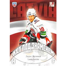 Darzins Lauris - 2013-14 Sereal KHL Under The Flag No.WCH-036