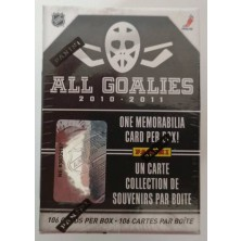 All Goalies Hockey Hobby Box 2010-11