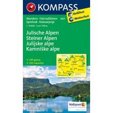 Julische Alpen, Steiner Alpen - Kompass 2801