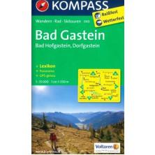 Bad Gastein, Bad Hofgastein, Dorfgastein - Kompass 040