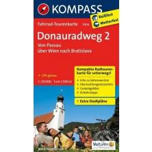 Cyklomapa Donauradweg 2 - Kompass 7004