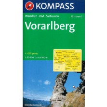 Vorarlberg set 2 map - Kompass 292
