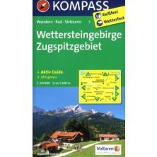 Wettersteingebirge, Zugspitzgebiet - Kompass 5