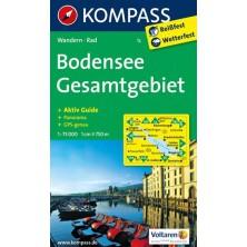 Bodensee, Gesamtgebiet - Kompass 1c