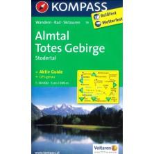 Almtal, Totes Gebirge - Kompass 19