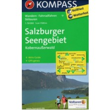 Salzburger, Seengebiet - Kompass 17