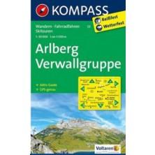 Arlberg, Verwallgruppe - Kompass 33