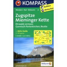 Zugspitze, Mieminger Kette - Kompass 25