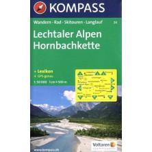 Lechtaler Alpen, Hornbachkette - Kompass 24