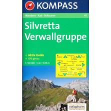 Silvretta, Verwallgruppe - Kompass 41