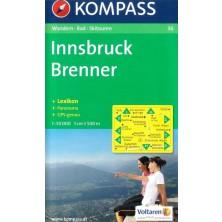 Innsbruck, Brenner - Kompass 36