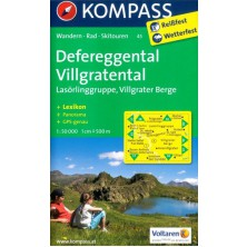 Defereggental, Villgratental, Lasörlinggruppe - Kompass 45