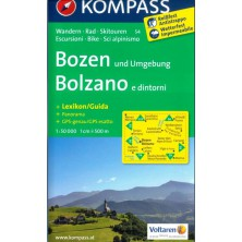 Bozen, Bolzano - Kompass 54