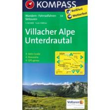 Villacher Alpe, Unterdrautal - Kompass 64
