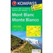 Mont Blanc - Kompass 85